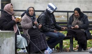 East European Beggars London